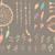 dibujado · a · mano · étnicas · colección · vector · establecer · elementos - foto stock © bluelela