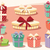 collection of colorful gift boxes with bows and ribbons stock photo © bluelela