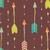 bohemian hand drawn arrows seamless pattern stock photo © bluelela