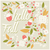Autumn card design with floral frame and typographical message stock photo © BlueLela