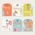 Sammlung · farbenreich · Design · Elemente · Schmetterling · Kolibri - stock foto © bluelela