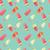 kleurrijk · ijs · illustratie · zoete · behang - stockfoto © bluelela