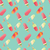vector · helado · arte · naranja · verde - foto stock © bluelela