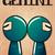 zodiac sign gemini with cute black ninja character vector stock photo © bluelela