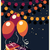 birthday background with presents and balloons stock photo © bluelela