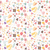 bohemian hand drawn flowers seamlss pattern stock photo © bluelela