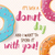 poster design with colorful glossy tasty donuts stock photo © bluelela