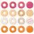 tortas · dulces · iconos · boda · parte · diseno - foto stock © bluelela