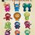 zodiac · signes · illustration · terre · femme · signe - photo stock © bluelela