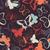 sem · costura · padrão · vector · colorido · borboletas · silhueta - foto stock © bluelela