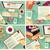 gyűjtemény · négy · munka · hosszú · árnyék · irodai · asztal - stock fotó © BlueLela