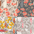 collection of four vector seamless patterns with floral elements stock photo © bluelela