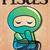 ninja · desenho · animado · vetor · máscara · cor · pessoa - foto stock © bluelela