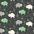 seamless pattern with cute baby buffaloes and native american sy stock photo © bluelela