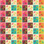 seamless patterns with colorful squares christmas reindeers and stock photo © bluelela