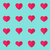 vector heart flat icons origami style stock photo © blumer1979
