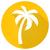 palmboom · tropisch · strand · icon · kleurrijk · toerisme · reizen - stockfoto © blumer1979