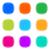 colorido · botões · eps · 10 · internet · luz - foto stock © blumer1979