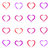 Various hand drawn heart icons stock photo © blumer1979