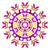 曼陀羅 · 対称の · 飾り · 装飾的な · パターン · 黒白 - ストックフォト © blumer1979