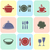 cooking and restaurant menu icons stock photo © blumer1979