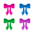 gift ribbon bows in different colors stock photo © blumer1979