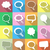 colorful speech and thought bubbles stock photo © blumer1979