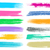 big vector brush strokes collection stock photo © blumer1979