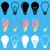 light bulb vector icons stock photo © blumer1979