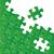 wektora · zielone · biały · puzzle · streszczenie · miejsce - zdjęcia stock © blumer1979