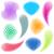 kleur · label · weefsel · vector · collectie · kleurrijk - stockfoto © blumer1979