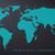 stippel · wereldkaart · Blauw · kaart · abstract · aarde - stockfoto © blumer1979