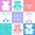 cute teddy bears icons stock photo © blumer1979