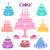 birthday and wedding cakes stock photo © blumer1979