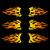 пламени · набор · дизайна · Элементы · бизнеса · огня - Сток-фото © blumer1979
