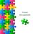 вектора · зеленый · фон · белый · головоломки · аннотация - Сток-фото © blumer1979