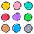 colorido · círculo · botões · web · design · coleção - foto stock © blumer1979