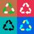 séparé · ordures · ensemble · isolé · blanche - photo stock © blumer1979