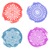 エレガントな · ピンク · 青 · 水彩画 · テクスチャ · 紙 - ストックフォト © blumer1979