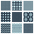 vector set of nine seamless patterns stock photo © blumer1979