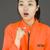 fiatal · ázsiai · nő · mutat · néz · megrémült - stock fotó © bmonteny