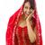indiai · fiatal · nő · suttog · üzenet · izolált · fehér - stock fotó © bmonteny