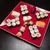 sushis · plaque · noir · cailloux · poissons · fond - photo stock © bmonteny