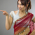 young indian woman showing something stock photo © bmonteny