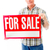 senior man showing a for sale sign stock photo © bmonteny