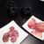 ワイングラス · 肉 · ワイン · 古い · キャンバス · 食品 - ストックフォト © bmonteny