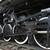 oude · zwarte · stoomlocomotief · wielen · spoorweg · track - stockfoto © bobkeenan