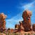 homokkő · kő · hegyek · Dél-Afrika · tájkép · Föld - stock fotó © bobkeenan