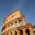 colosseum · detail · Romeinse · hemel · stad · zon - stockfoto © boggy