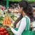 作り出す · 野菜 · 女性 · 人参 · 孤立した - ストックフォト © boggy